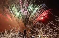 新年を祝う催し満載のカウントダウンイベント