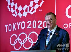 国際オリンピック委員会のジョン・コーツ副会長(2019年7月24日撮影、資料写真)。(c)Toshifumi KITAMURA / AFP