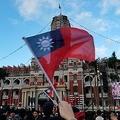 中国の一国二制度に猛反発、台湾の最新の世論調査
