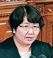 (写真)反対討論する高橋千鶴子議員=31日、衆院本会議