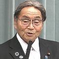 就任会見時の北村氏(政府インターネットテレビより)。当時から不安の声はあったが
