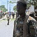 ソマリアの治安部隊員、同国首都モガディシオで(2016年8月30日撮影、資料写真)。(c)Mohamed ABDIWAHAB / AFP