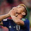 同点ゴールを決めた日本代表・MF本田圭佑【写真:Getty Images】
