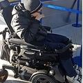 降機させられた車椅子の男性(画像は『Metro 2019年1月2日付「Disabled teenager 'thrown off Ryanair flight after wheelchair sparked concerns'」(Picture: CEN)』のスクリーンショット)