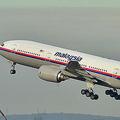 不明のマレーシア機 捜索再開へ