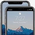iPhoneXの上部にある切り欠き部分に賛否 黒い帯で隠すアプリが配信