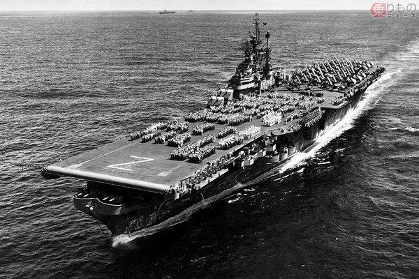 太平洋戦争時に実在した米空母「シャングリラ」大統領のジョークが ...