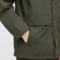 「ハンティングジャケット」適度なツヤ感があり、安っぽさは皆無