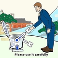 「使いこなせない」の声も トイレ使用法を解説した訪日者向け動画