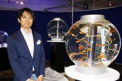 宝石のような2,000匹の魚が踊る日本初のカフェ型水族館「ジュエリーアクアリウム」