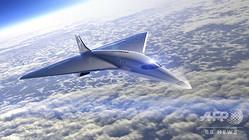 宇宙旅行企業ヴァージン・ギャラクティックが開発する、マッハ3の超音速旅客機のデザイン画(2020年8月3日提供)。(c)AFP PHOTO / VIRGIN GALACTIC