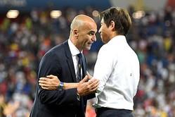 ベルギー代表監督、大健闘の西野ジャパンに賛辞「日本は完璧な試合をした」