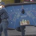 違法にバカラ賭博をさせて手数料を取ったとして、従業員5人を現行犯逮捕