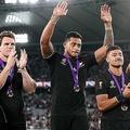 ニュージーランド代表の選手たちが銀座でしていたことは…【写真:Getty Images】