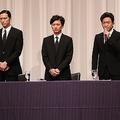 山口達也が起こした事件を受け、謝罪会見に臨んだTOKIOの4人
