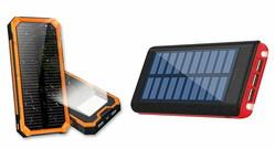 災害時も安心 現代の必需品!? 防水モデルもあるソーラーパネル搭載モバイルバッテリー