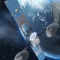 米航空宇宙局(NASA)の追跡・データ中継衛星(2017年6月23日公開、資料写真)。(c)AFP=時事/AFPBB News