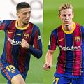 バルセロナ、主力4選手との契約延長を発表 デ・ヨングは2026年まで