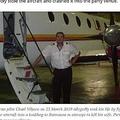 軽飛行機でクラブハウスに突っ込んだ夫(画像は『EWN 2019年3月25日付「MAN WHO TRIED TO KILL WIFE WITH PLANE IN BOTSWANA IDENTIFIED AS SOUTH AFRICAN」(Picture: Facebook/Aerospaceafricatv)』のスクリーンショット)