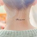 少女時代テヨン Instagramで美うなじ披露、タトゥーの意味にも反響