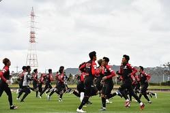19人の検査結果を報告した名古屋。トップチームは活動を休止している(写真はイメージ。2月5日撮影)。(C)SOCCER DIGEST