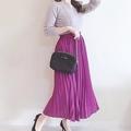 GUで590円!夏色プリーツスカートで作る大人のデートコーデ4選