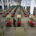 スペイン・バルセロナの仮設病院の様子(2020年3月25日撮影、資料写真)。(c)Pau Barrena / AFP