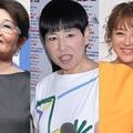 (写真左から)泉ピン子、和田アキ子、鈴木奈々