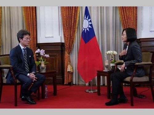 蔡総統、台湾のTPP参加を熱望 日...