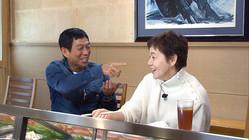 日本テレビ「誰も知らない明石家さんま」で、元妻・大竹しのぶと2人きり対談に臨んだむ明石家さんま(C)日本テレビ
