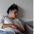 体重114キロ以上の肥満体型に悩んでいた女性(画像は『Mirror 2021年2月24日付「Mum-of-three who lost seven stone now told she 'looks like Meghan Markle'」(Image: SWNS.com)』のスクリーンショット)