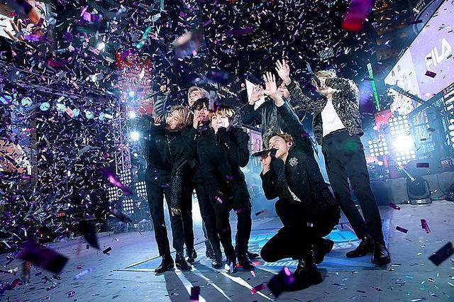 Bts 米最大の年越しイベントで世界を魅了 Nyに韓国語の掛け声響く