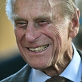 英国のフィリップ殿下。ウィンザー城で(2014年4月9日撮影、資料写真)。(c)Ben STANSALL / POOL / AFP