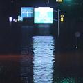 茨城県を流れる那珂川が氾濫 付近一帯で大規模な浸水被害