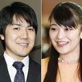 小室圭さん(左)と眞子さま(C)共同通信社