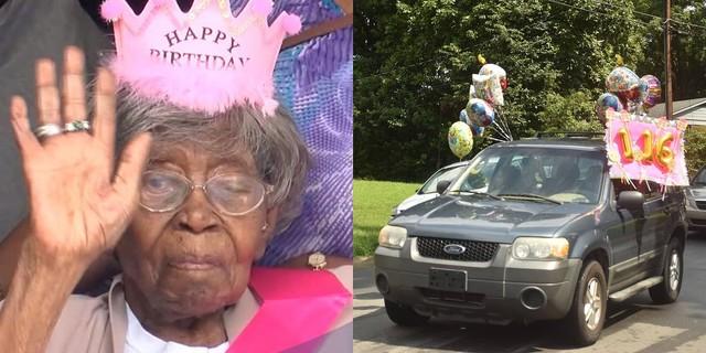 116歳の誕生日を迎えた米最高齢の女性 14歳で結婚し、子孫は250人超 ...