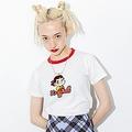 「X‐girl × PEKO RINGER S/S TEE」(税込 6050円)
