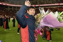 2014年に引退した中田浩二氏。現在は鹿島のCROを務める。(C)SOCCER DIGEST