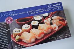 フランスで「冷凍のお寿司」を発見したので食べてみた →  見た目も味も衝撃的だったよ…
