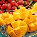 スイパラで「マンゴー食べ放題」