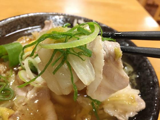 豚バラ肉と白菜 という鉄壁コンビをあんかけで仕上げた 豚バラ白菜