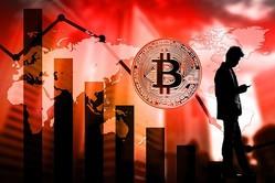 ビットコイン含む多くの仮想通貨が急落(写真はイメージ)