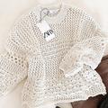 この春からは大人っぽくなりたいの。絶妙なヘルシーさが大人っぽいZARAの透かし編みニットは大本命の春ニット