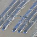 台風19号の大雨で千曲川が決壊し、浸水したJR東日本の長野新幹線車両センター=13日、長野市(時事通信特別機より)