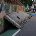 小学4年生の女児が下敷きになり、犠牲になってしまったプール脇のブロック塀