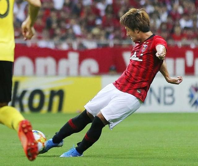 サッカー、浦和が広州恒大に先勝 ACL準決勝で2―0