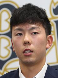 オリックスの本田仁海投手
