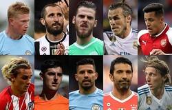 総合値90が登場! FIFAの選手レーティング、TOP20〜11が発表