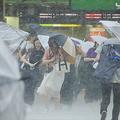 五輪開催時期は台風シーズン(写真/時事通信フォト)