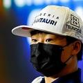 フォーミュラワン(F1、F1世界選手権)、アルファタウリの角田裕毅(2021年5月6日撮影)。(c)Mark Sutton / POOL / AFP